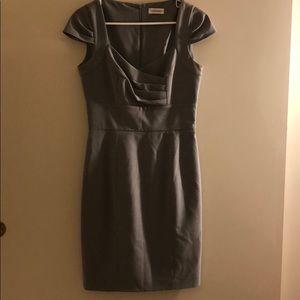 Calvin Klein Gray Business Dress